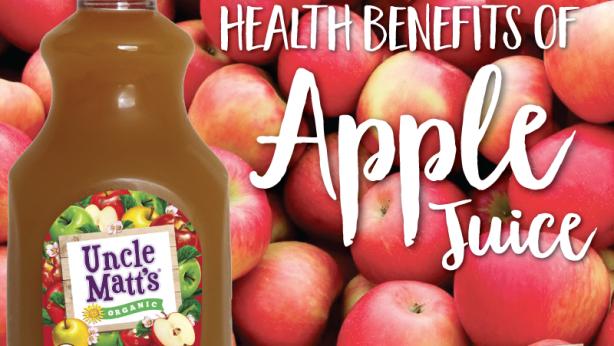 Organic Apple Juice Health Benefits
