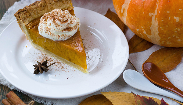 Citrus Marnier Pumpkin Pie