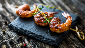Citrus Marinated Grilled Shrimp