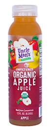 Uncle Matt's Organic 12 oz Apple Juice