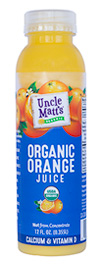 Uncle Matt's 12 oz Pulp Free Orange Juice with Calcium & Vitamin D