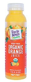 Uncle Matt's 12 oz Pulp Free Orange Juice