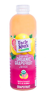 Uncle Matt's Organic 28 oz Grapefruit