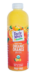Uncle Matt's Organic 28 oz Pulp Free
