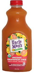 Uncle Matt's Organic Grapefruit Juice
