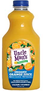 Uncle Matt's Organic Orange Juice with Calcium & Vitamin D