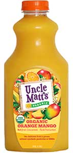 Uncle Matt's Organic Orange Mango Juice