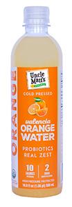Uncle Matt's Organic Orange Water with Probiotics
