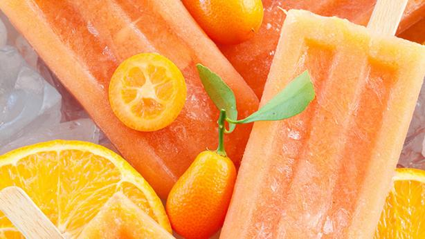 organic popsicles