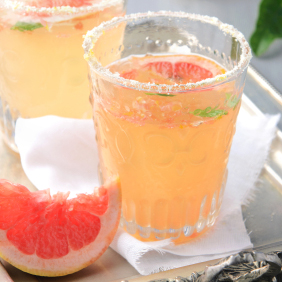 summertime grapefruit spritzer
