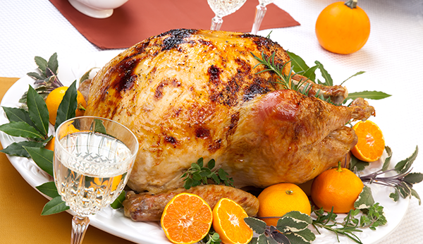 citrus organic turkey