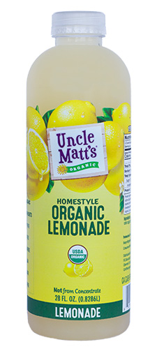 28 oz. Organic Homestyle Lemonade