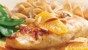 Chicken with Honey-Orange Sauce