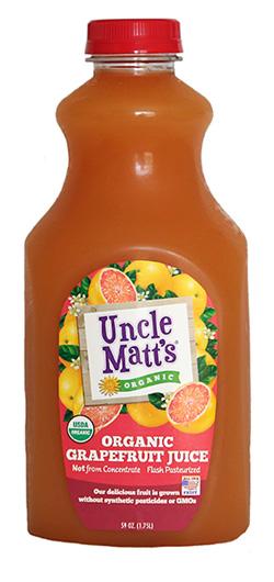 Uncle Matt's Organic Grapefruit Juice