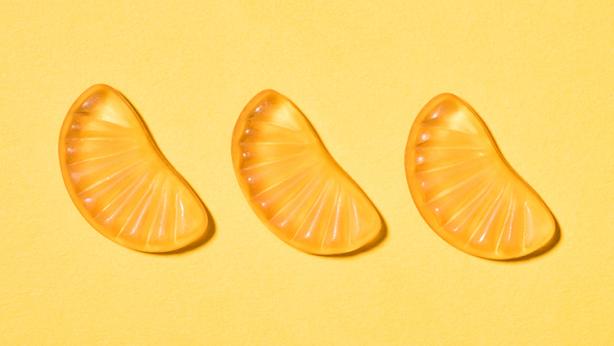Vitamin C Orange Gummies