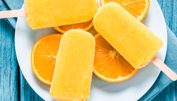 Orange Turmeric Popsicles