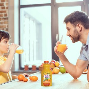 drinking orange juice is healthy