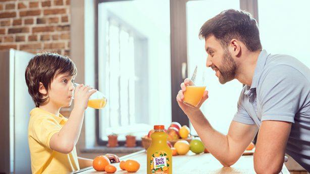 drinking orange juice is healthy