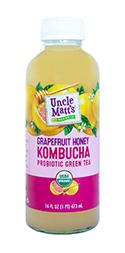 Uncle Matt's Grapefruit Honey Kombucha