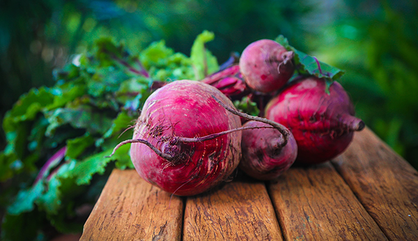 roasted organic beets