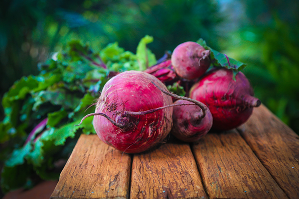 roasted organic beets
