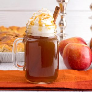 Warm Organic Apple Cider