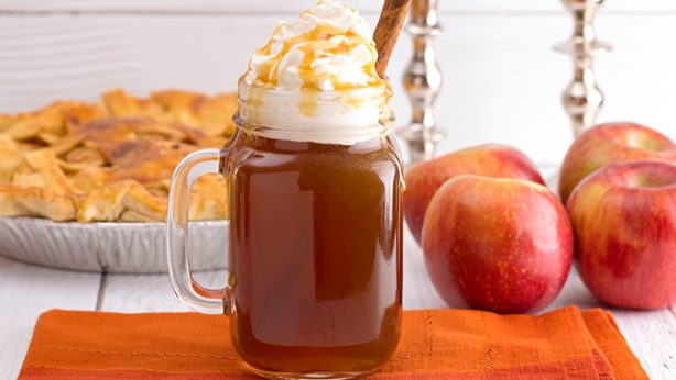Warm Organic Apple Cider