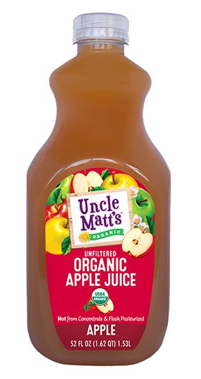 Uncle Matt's Organic Apple Juice