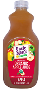 Uncle Matt's Organic Apple Juice