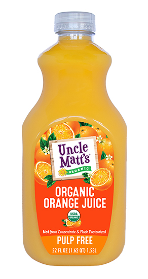 Uncle Matt's Organic Pulp Free Orange Juice