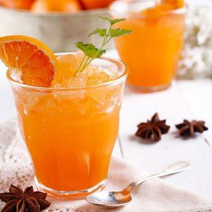 Orange Champagne Granita
