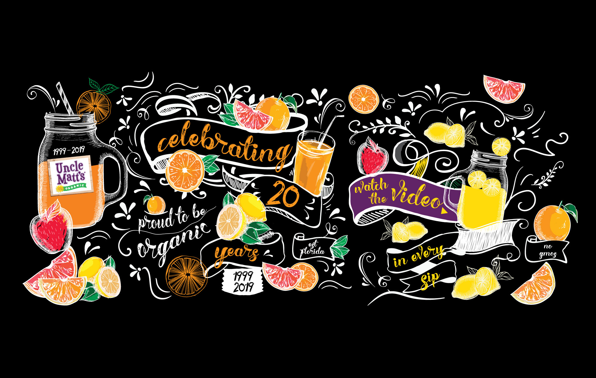Uncle Matt's Organic celebrates our 20th anniversary of growing organic