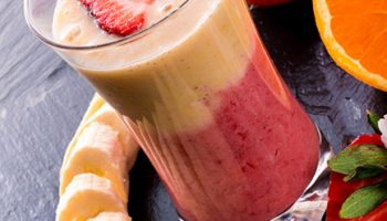 Orange Strawberry Smoothie