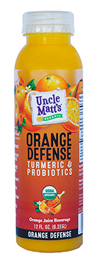 Uncle Matt's 12 oz Orange Defense with Turmeric & Probiotics