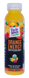 Uncle Matt's 12 oz Orange Energy with Coffeeberry