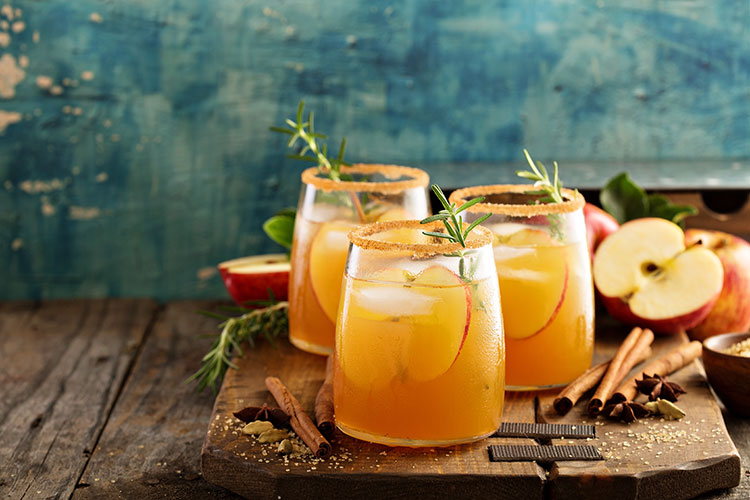 Apple Juice Fall Cocktail Recipe