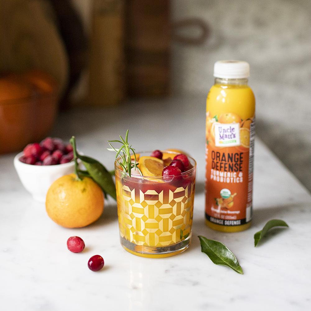 Orange Cranberry Fizz