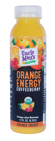 Uncle Matt's Organic 12 oz Orange Energy