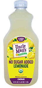 Uncle Matt's Organic No Sugar Added Lemonade