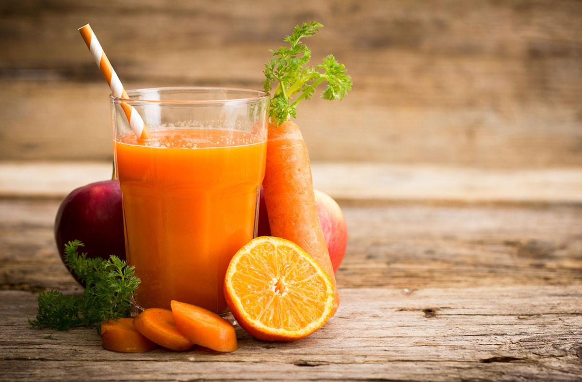 Orange Carrot Immunity Power Smoothie