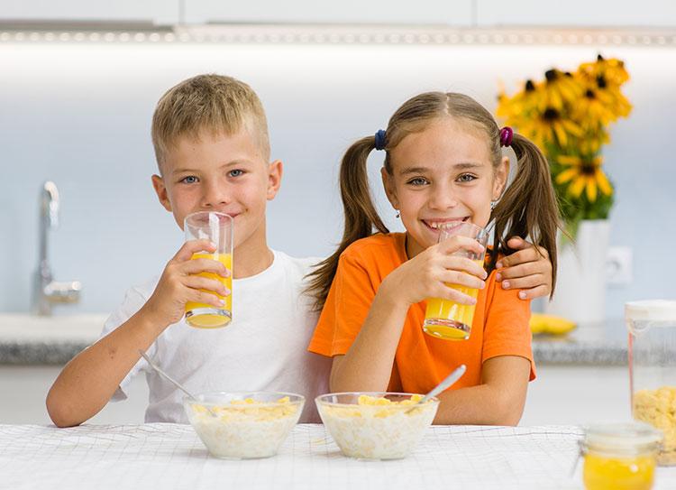 Drinking Orange Juice has its benefits