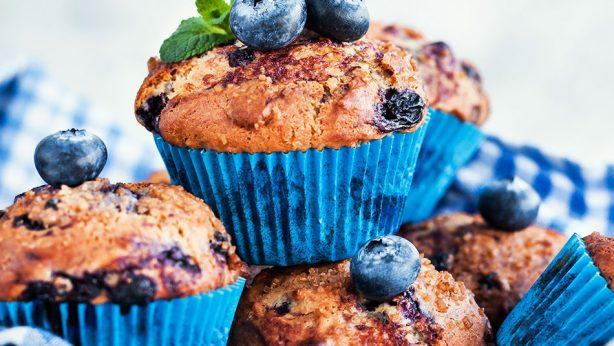 Orange Blueberry Muffin