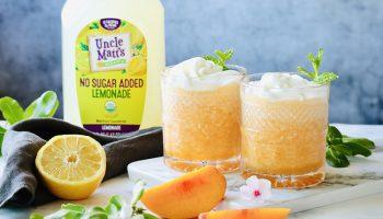 Lemonade Peach Frosé