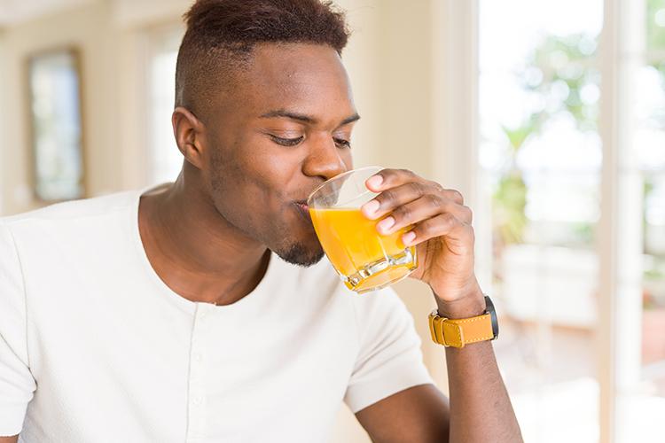 Uncle Matt's Organic Orange Juice is nutrient dense