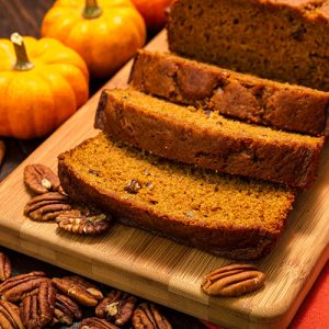 Orange & Spice Pumpkin Bread