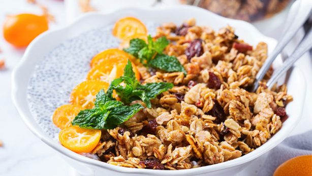 Orange Turmeric Granola