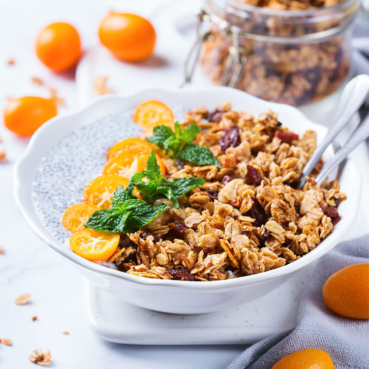 Orange Turmeric Granola