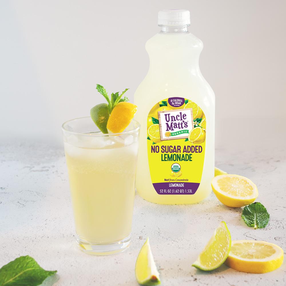 No Sugar Added Lemonade Moscow Mule