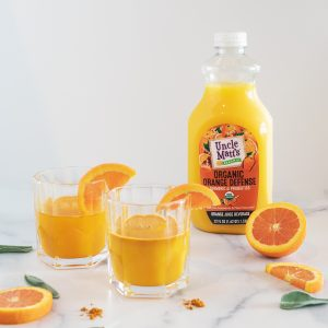 Orange Defense Cocktail