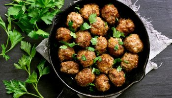 Slow Cooker Organic Orange Meatballs